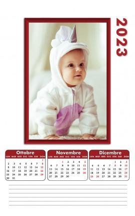 Calendari 4 pagine